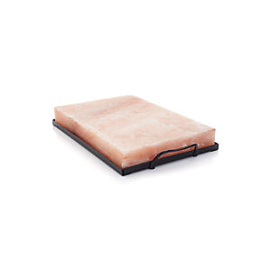 Himalayan Salt Plate and Salt Plate Holder