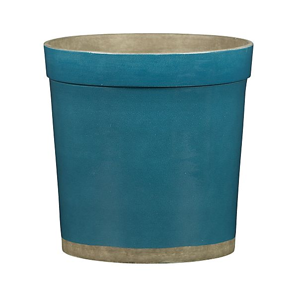Himara Medium Teal Planter