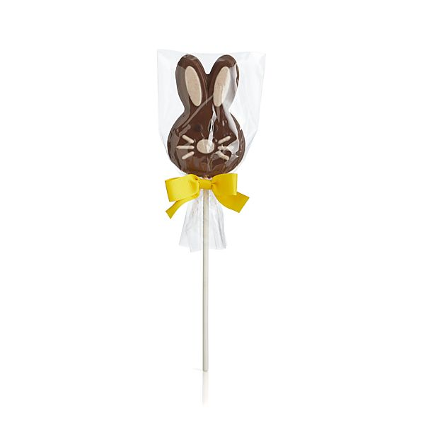 The Long Grove Confectionery Hippity Hop Chocolate Pop