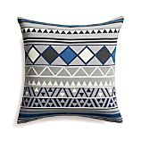 "Hira 18"" Pillow with Down-Alternative Insert"