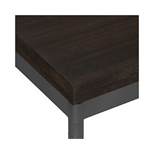 Myrtle Top/ Hammered Base Dining Tables