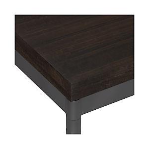 Myrtle Top/ Hammered Base Dining Tables