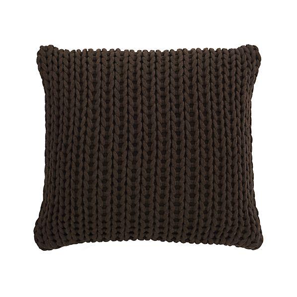 """Holden Brown 23"""" Pillow"""