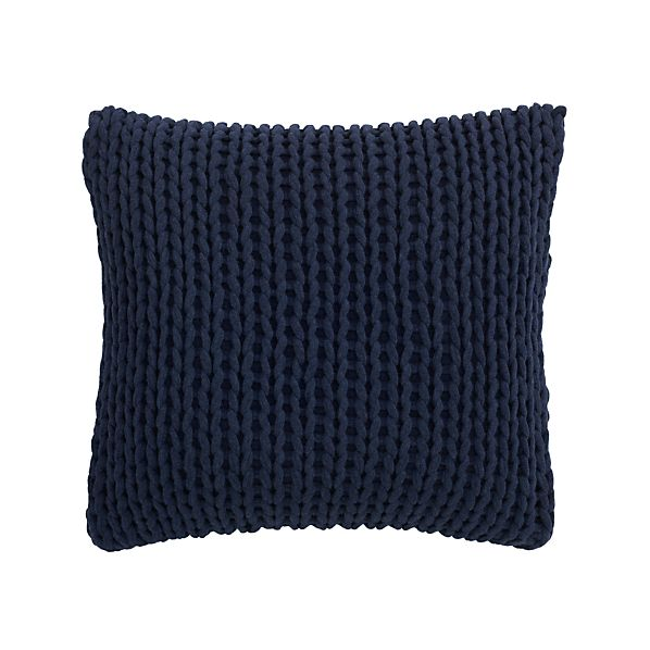 "Holden Navy 23"" Pillow"
