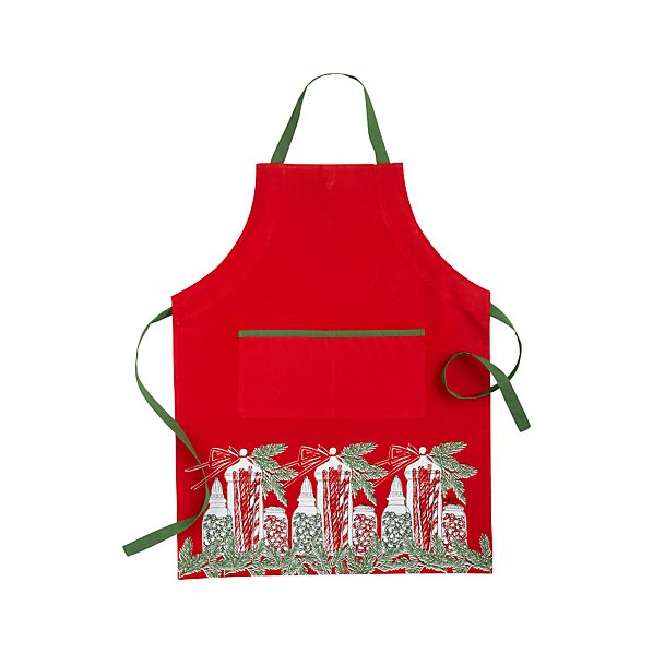 Vera Neumann Holiday Candy Jar Apron