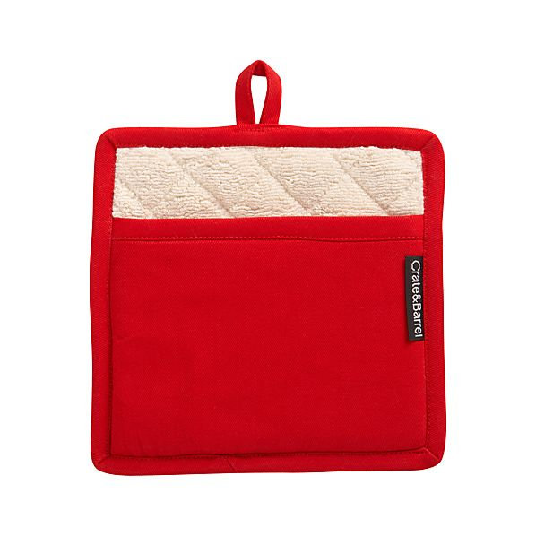 Holiday Crate and Barrel Potholder
