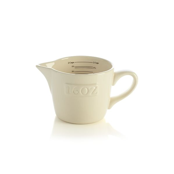 Homestead Ceramic Measuring Cup