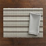 Horizon Placemat and Cotton Dove Napkin