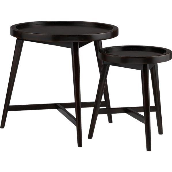 Round Nesting Tables ~ Jws interiors nesting tables a versatile alternative to