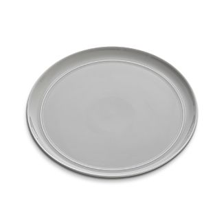 Hue Light Grey Dinner Plate