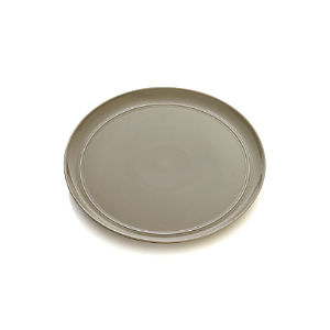 Hue Taupe Dinner Plate