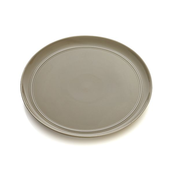 Hue Taupe Dinner Plate