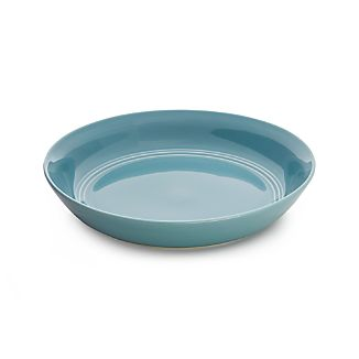 Hue Blue Low Bowl