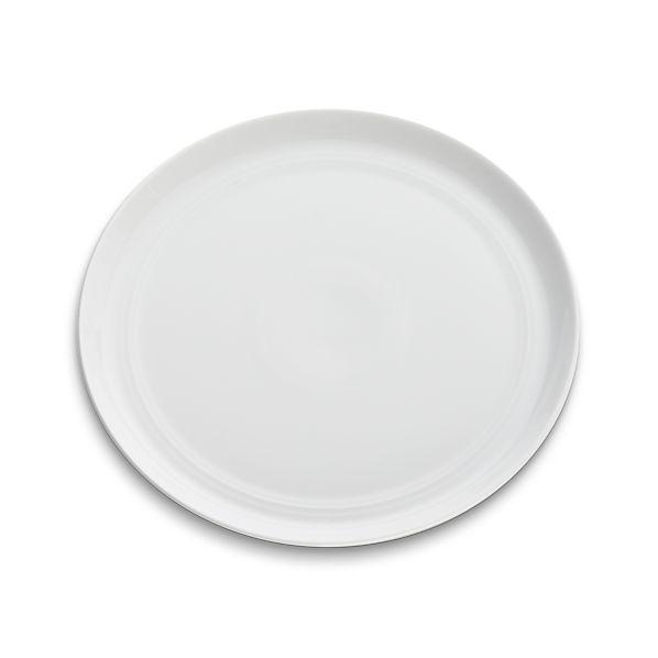 Hue White Salad Plate