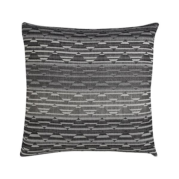 "Hutton 20"" Pillow with Feather-Down Insert"