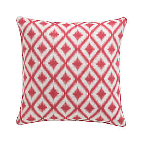 Ibiza Raspberry 23 Pillow