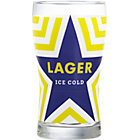 Ice Cold Lager Beer. 20 oz.