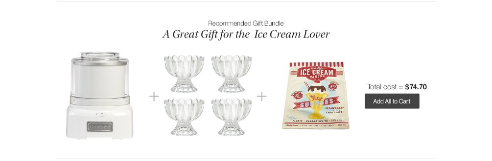 Ice Cream Gift Bundle