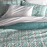 Ikat Aqua Full-Queen Quilt