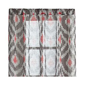 Ikat Grey Curtains