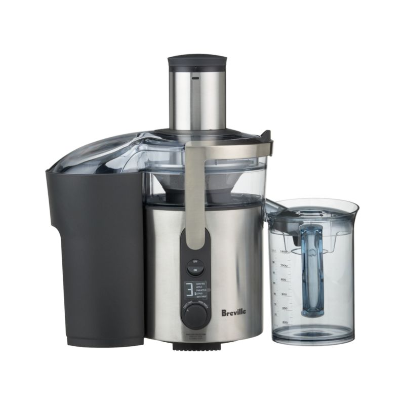 Breville Masticating Juicer Vs Omega : Breville Ikon Juice Fountain Crate and Barrel