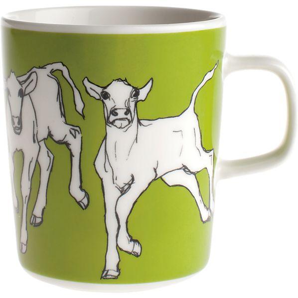 Marimekko Iltavilli Green Mug