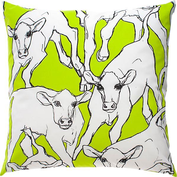 """Marimekko Iltavilli 20"""" Pillow"""