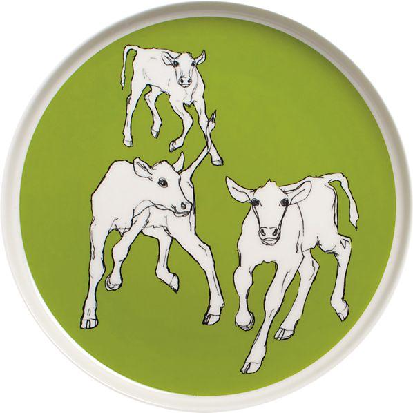 Marimekko Iltavilli Green Plate