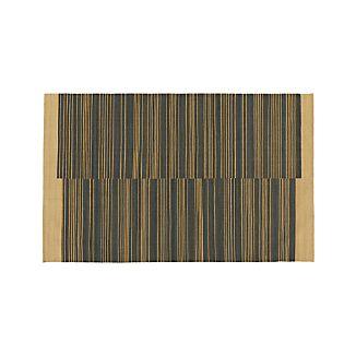 Indigo Stripe Rug