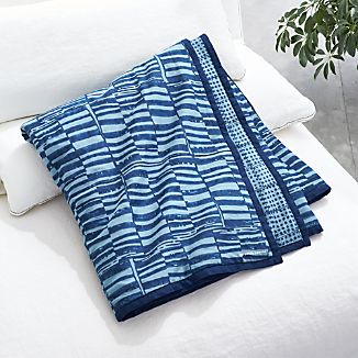 Indigo Throw