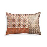 "Inez 18""x12"" Pillow with Feather-Down Insert"