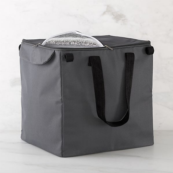 Polder 174 Grey Insulated Cart Liner Crate And Barrel