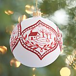 Limited Release Into the Woods Ball Ornament