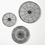 3-Piece Intricate Circle Wall Art Set