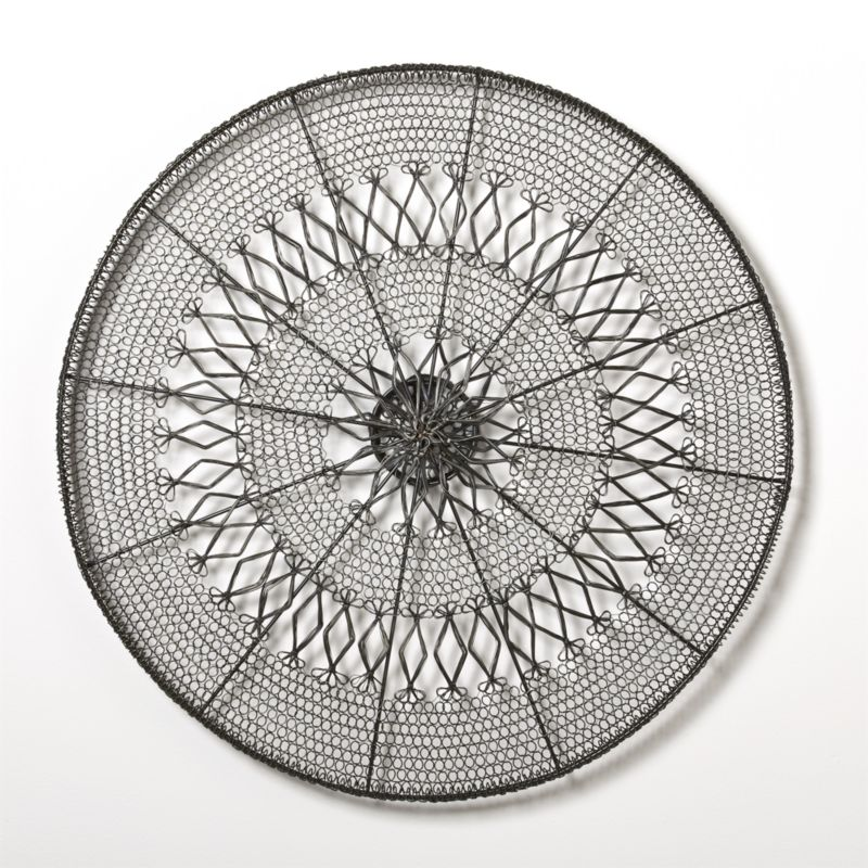 Intricate Circle Large Wall Art Crate And Barrel