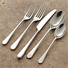 Iona 20-Piece Flatware Set: four 5-piece place settings.