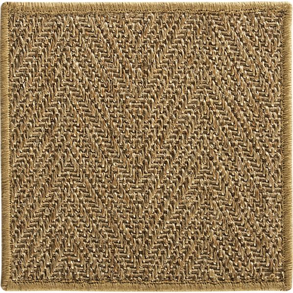 Island Honey Chevron Swatc 12x12
