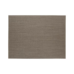 Island Graphite Grid 9x12 Rug