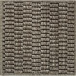 Island Graphite Grid  12&quot; sq. Rug Swatch