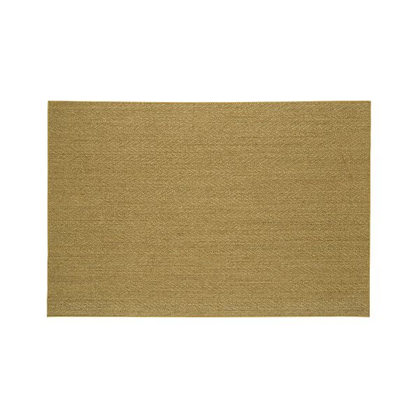 Island Chevron Honey 6'x9' Rug