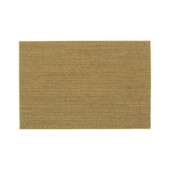 Island Grid Honey 4'x6' Rug