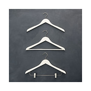 Ivory Clothes Hangers