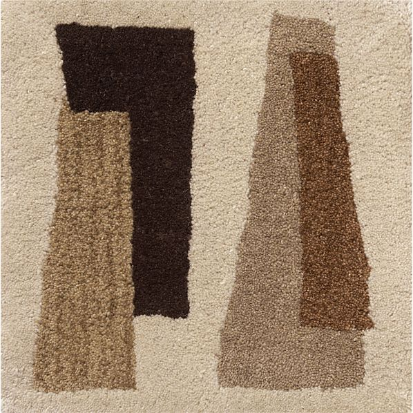 "Jacques 12"" sq. Rug Swatch"