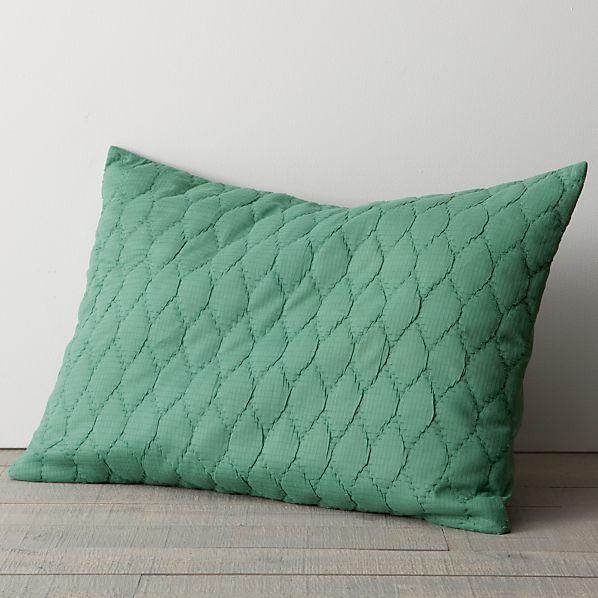 Jade Standard Pillow Sham