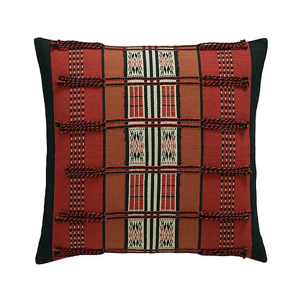 "Jalukie 18"" Pillow with Feather-Down Insert"