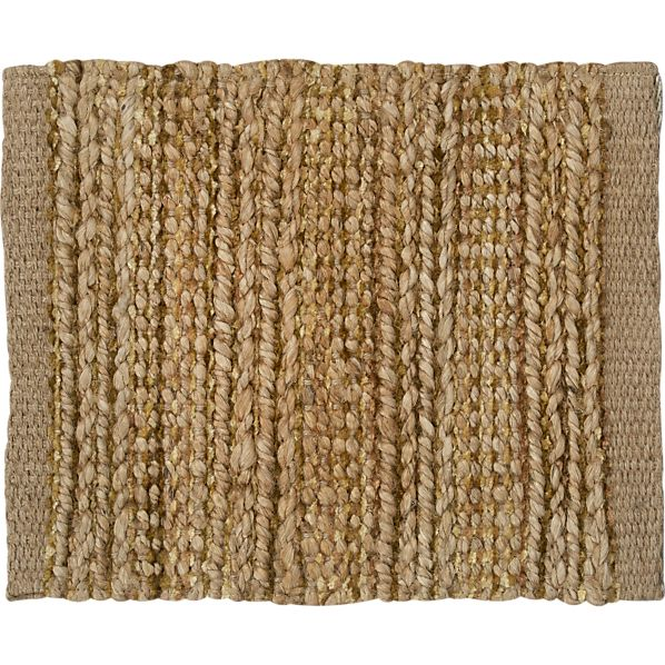 "Jarvis Natural 12"" sq. Rug Swatch"