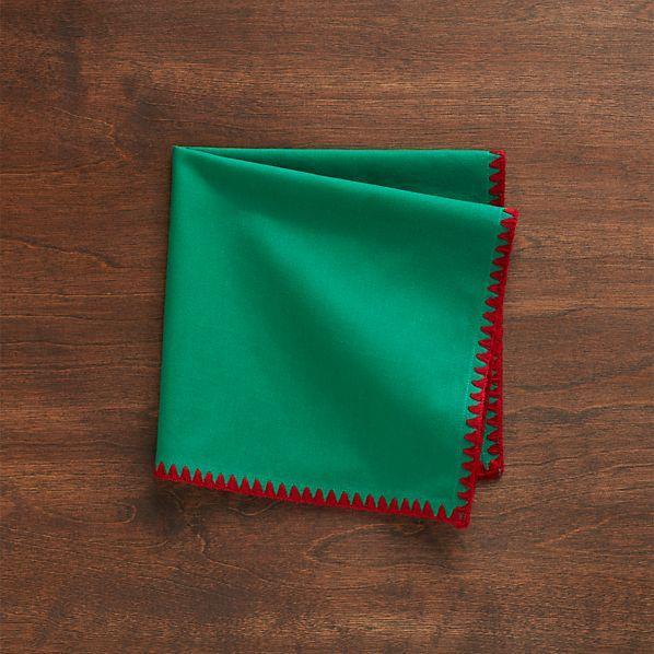 Jaunty Green Napkin