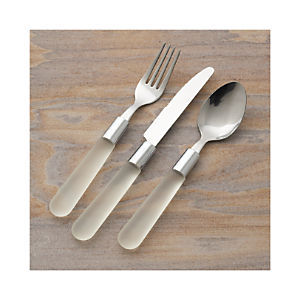 Jelli Clear Flatware