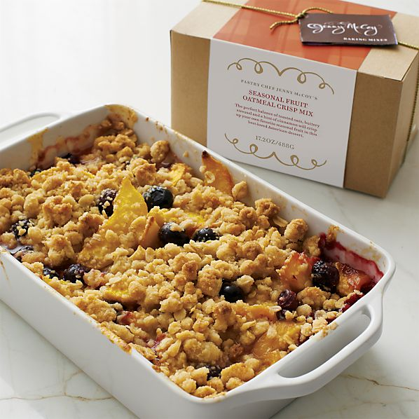 Jenny McCoy's Seasonal Fruit Oatmeal Crisp Mix