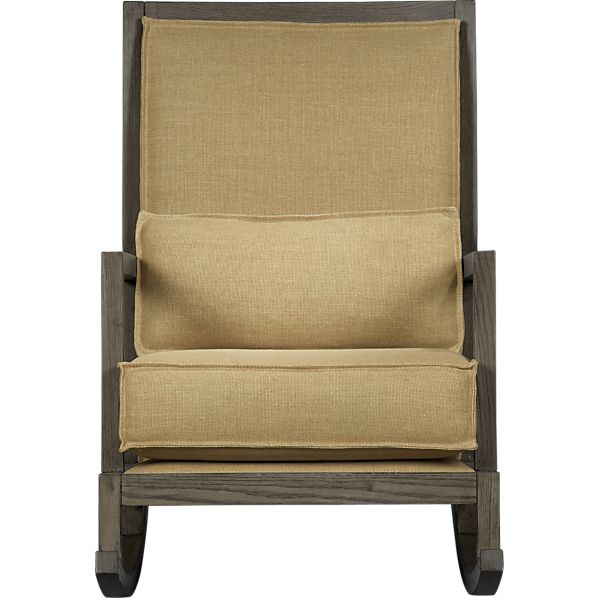 Jerimiah Fabric Back Rocker